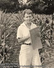 Barbara McClintock as a young women