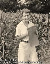 Barbara McClintock as a young women